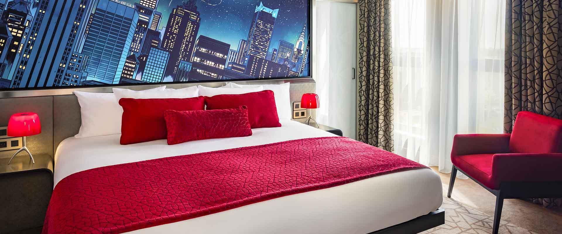 Club-Zimmer, Suiten und eine lounge im Tony Stark Stil