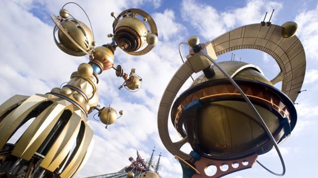 Orbitron é totalmente desmontado na Disneyland Paris