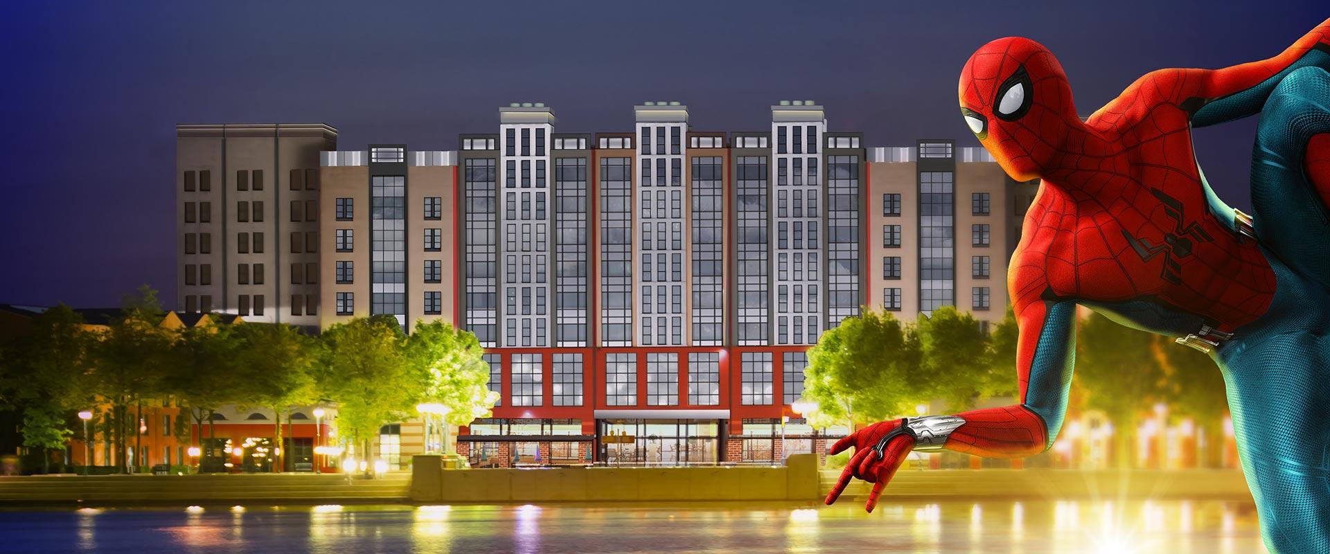 Disney revela preços do hotel da Marvel