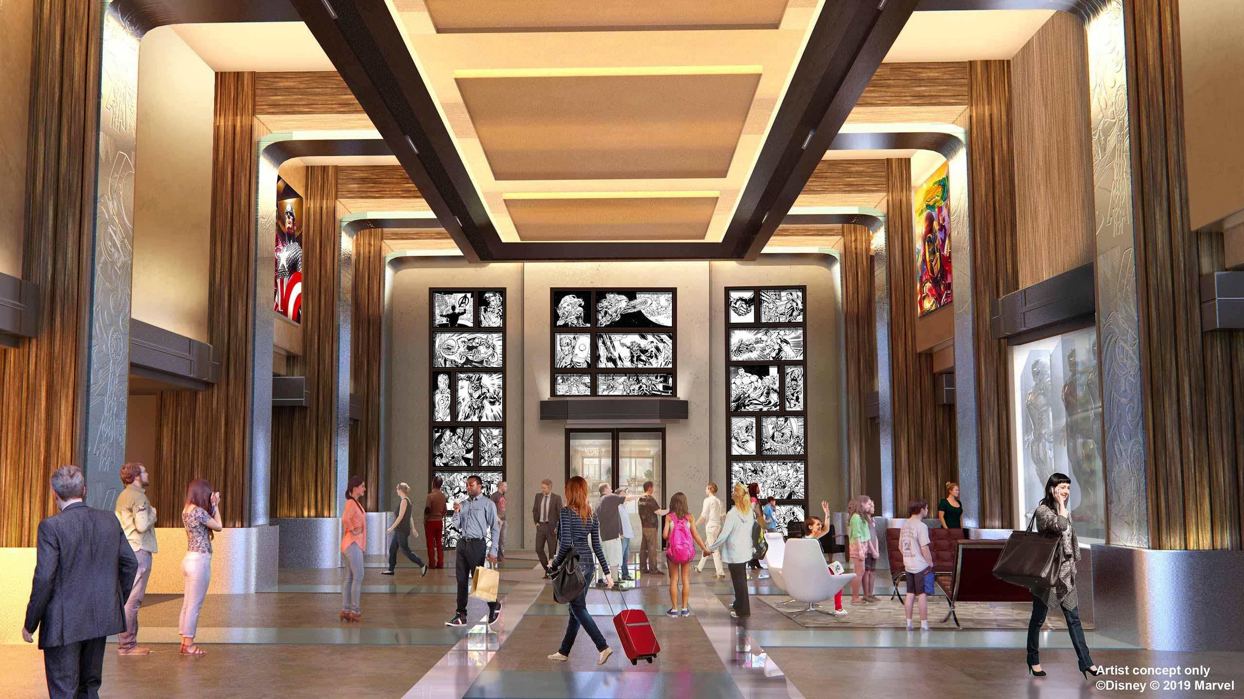 Nieuwe Disney's Hotel New York – The Art of Marvel in Disneyland Paris