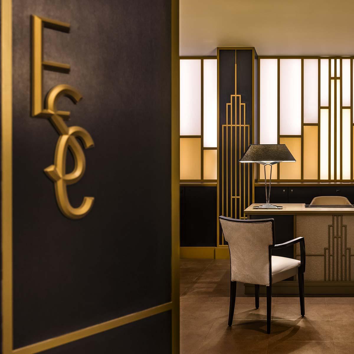 Quartos Club, Suites e um club lounge mesmo ao estilo de Tony Stark